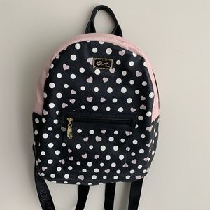 Luv Betsy Johnson Backpack - Hearts & Polka Dots